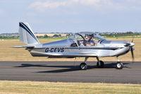 G-CEVS @ EGSU - Departing from Duxford. - by Graham Reeve