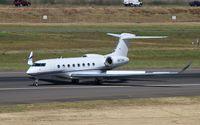 N673HA @ KPDX - Gulfstream VI - by Mark Pasqualino
