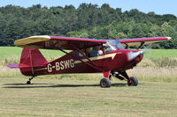 G-BSWG @ X3CX - Just landed at Northrepps. - by Graham Reeve