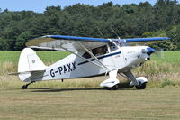 G-PAXX @ X3CX - Just landed at Northrepps. - by Graham Reeve