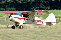G-BRPY @ X3CX - Just landed at Northrepps. - by Graham Reeve