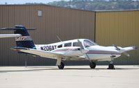 N206AT @ KCMA - Piper PA-44-180