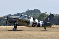 G-RUMW @ EGSU - Landing at Duxford. - by Graham Reeve