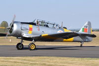 G-BGPB @ EGSU - About to depart from Duxford. - by Graham Reeve