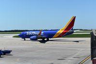 N448WN @ KMCI - Seen at Kansas City International Airport