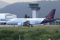 OO-SSM @ LFKB - Brussels Airlines A319 - by Andreas Ranner