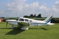 N451X @ C55 - Piper PA-28-236