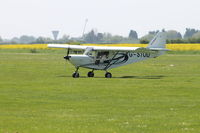 G-STOD @ EGCL - Taxing after landing - by Vinny Halls