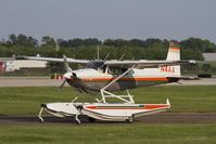 N4AA @ KOSH - Cessna 185 at Oshkosh - by Eric Olsen