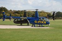 G-PIXX @ EGLD - Operated by Flying TV. Note the TV camera mounted on the front. - by Glyn Charles Jones
