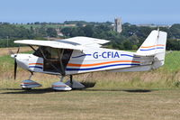 G-CFIA @ X3CX - Just landed at Northrepps. - by Graham Reeve