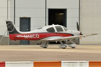 N10CD @ EGSH - Nice Visitor. - by keithnewsome