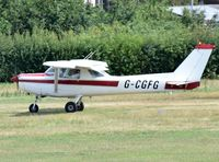 G-CGFG @ EGCB - At City Airport Manchester - by Guitarist-2