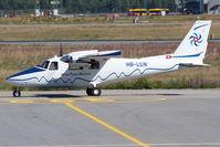 HB-LUN @ ENGM - Swiss Flight Services - by Jan Buisman