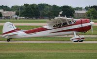 N195KS @ KOSH - Cessna 195A