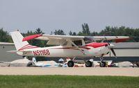 N51168 @ KOSH - Cessna 150J - by Mark Pasqualino