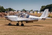 G-CEND @ EGBR - Evektor EV-97 TeamEurostar UK G-CEND Flylight Airsports Breighton 1/7/18 - by Grahame Wills