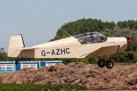G-AZHC @ EGBR - Jodel D112 G-AZHC Aerodel Flying Group Breighton 1/7/18 - by Grahame Wills