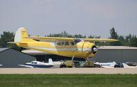 N3083B @ KOSH - Cessna 195A