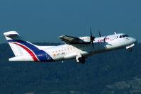 EC-JBX @ LFML - Take off