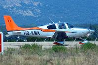 HB-KMA @ LFKC - Taxiing