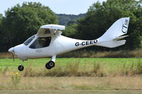 G-CEEO @ X3CX - Landing at Northrepps. - by Graham Reeve
