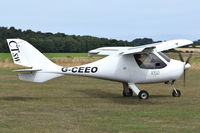 G-CEEO @ X3CX - Departing from Northrepps. - by Graham Reeve