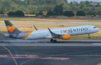 D-ATCD @ EDDL - Condor A321 burning rubber on arrival. - by FerryPNL