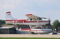 C-FRDB @ KOSH - Cessna A185F
