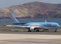 G-OBYH @ LPA - Taxi to runway of LPA - by Willem Göebel