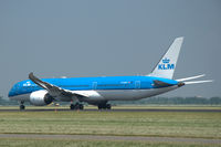 PH-BHD @ EHAM - KLM Boeing 787-9 Dreamliner taking off from Schiphol airport, the Netherlands - by Van Propeller