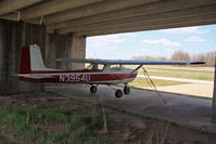 N3954U @ K32 - At her home airfield of Riverside, Wichita, KS before the airport was closed for development - by rosedale