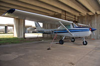 N5919J @ K32 - At her home airfield of Riverside, Wichita, KS before the airport was closed for development - by rosedale