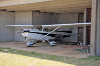 N9613H @ K32 - At her home airfield of Riverside, Wichita, KS before the airport was closed for development - by rosedale