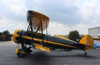 N48TW @ C77 - Waco Taperwing T-10 Replica