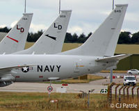 168849 @ EGQS - P-8 Line-up of tails at RAF Lossiemouth - by Clive Pattle