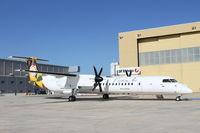 9G-ACA @ LMML - DeHavilland DHC-8 9G-ACA Passion Air