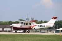 N4988 @ KOSH - Cessna P210N
