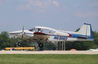 N6918D @ KOSH - Piper PA-23-160