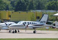N421WL @ KOSH - Cessna 421B