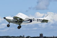 G-STOD @ X3CX - Departing from Northrepps. - by Graham Reeve