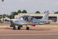 G-HMCF @ EGVA - EV-97 Eurostar SL G-HMCF RAF Halton Microlight Club Fairford 12/7/18 - by Grahame Wills