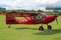 G-LESZ @ X6MO - Present at the Montrose Air Station Heritage Centre light aircraft fly-in held on 25th August 2018. - by Clive Pattle
