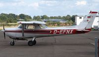 D-EFNX @ EDWQ - parking - by Volker Leissing