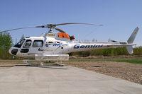 C-GEMJ @ YOJ - Gemini Helicopters AS-350B2