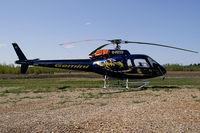 C-FETD @ YOJ - Gemini Helicopters AS-350BA