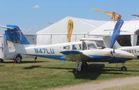 N47LU @ KOSH - Piper PA-44-180