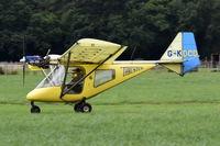 G-KDCD @ X3FT - Just landed at Felthorpe.