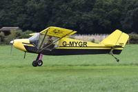 G-MYGR @ X3FT - Departing from Felthorpe.