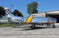 N188RL @ KRFD - North American F-86F